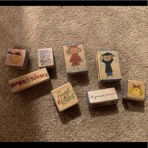 Lot of Craft stamps